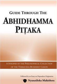 Guide through the Abhidhamma Pitaka