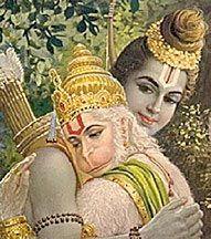 Ramayana and Hanuman - ebook cover