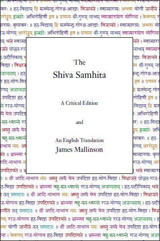 The Shiva Samhita – A Critical Edition